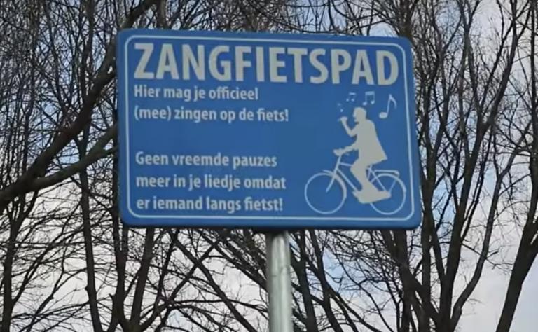Het Zangfietspad, voor iedereen die houdt van lekker zingen op de fiets