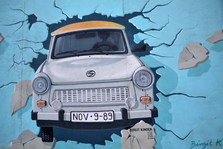 7 Bijzondere foto's van hoe de Berlijnse Muur er tegenwoordig uitziet