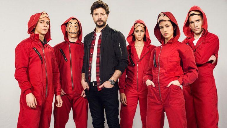 Seizoen 4 van La Casa de Papel staat op Netflix