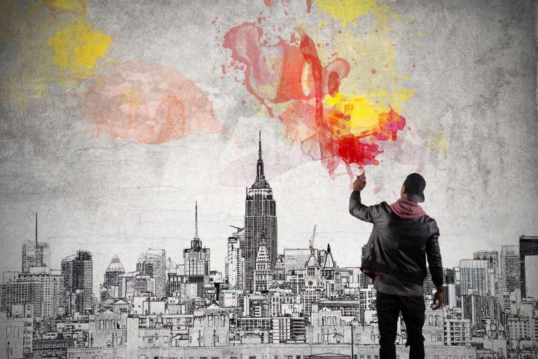 Houd Banksy in de smiezen