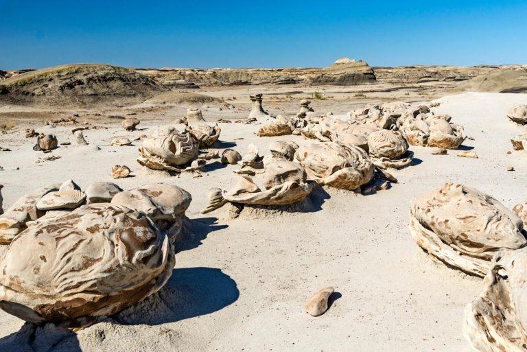 'Door erosie zijn prachtige en bizarre rotsformaties ontstaan'