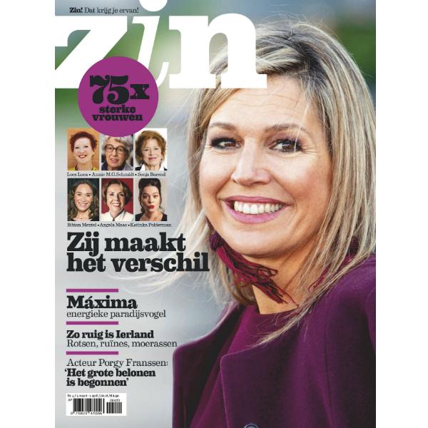 3x Zin + de digitale editie van de special sterke vrouwen