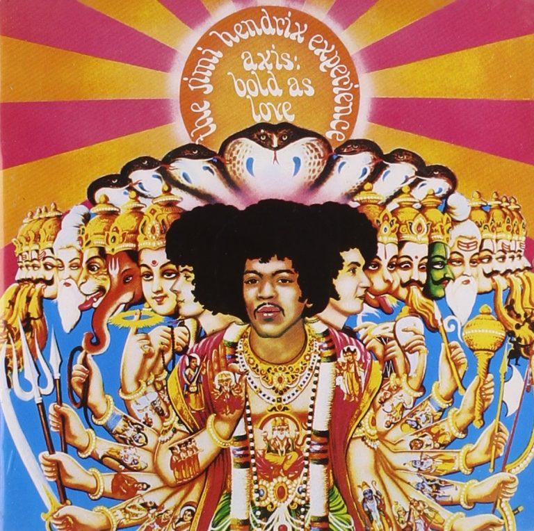 5 x Jimi Hendrix in herinnering