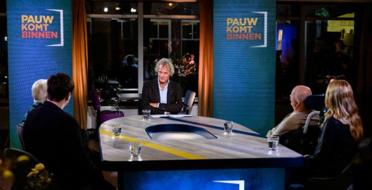 Jeroen Pauw is terug met een wekelijkse talkshow!