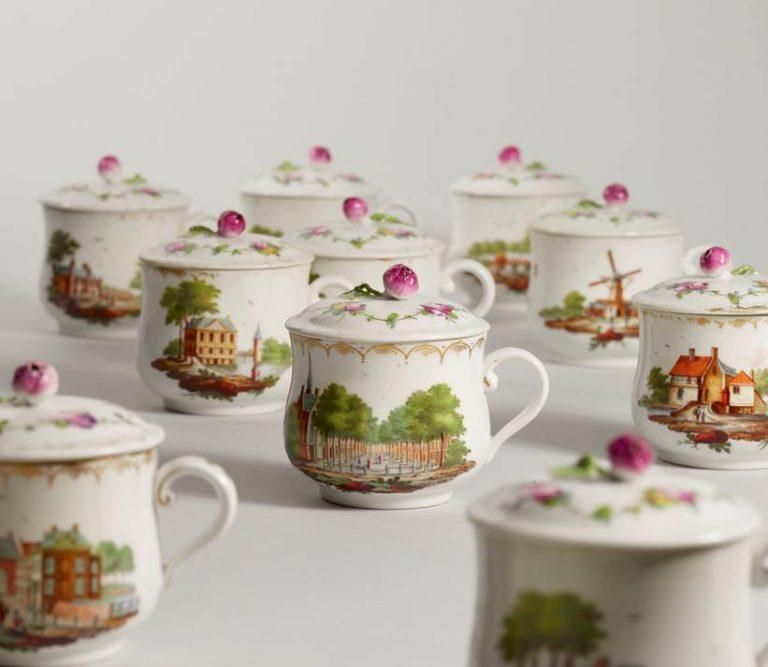 Voor de verzamelaars: Haags porselein koekeloeren