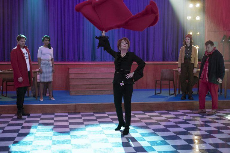 Voetjes van de salontafel met Meryl Streep!