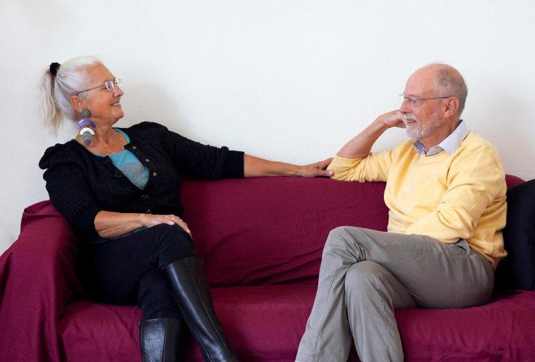 'Toen we elkaar ontmoetten, bleek ze ook nog eens fysiek aantrekkelijk'