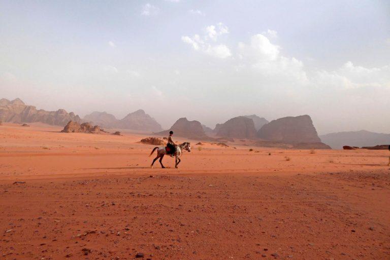 'In rode woestijnen of uitgestrekte landschappen voel ik mij thuis'