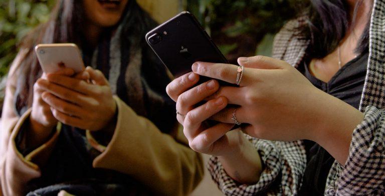 Weg met die smartphone!