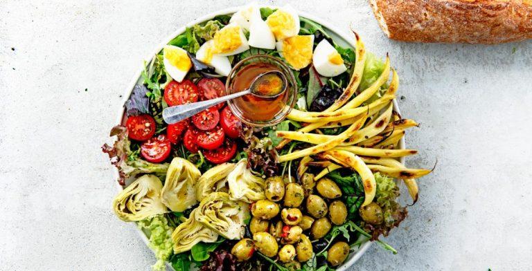 Een plaatje toch, deze salade niçoise?