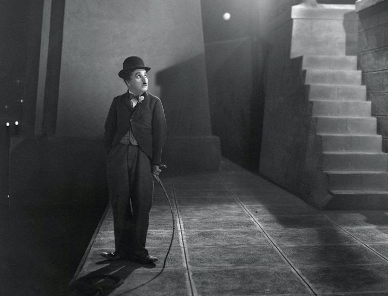 Charlie Chaplin terug naar de bioscoop