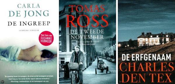 thriller boeken 20 winactie UITG WEB