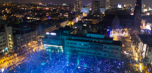 GLOW 2012 - Opening LEDs light 2018Eindhoven - photo by Peter Verver