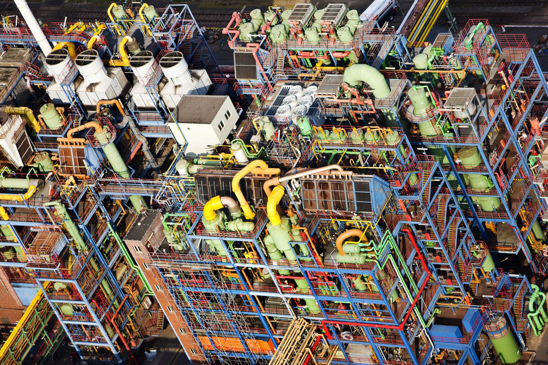 Industrie in het Ruhrgebied
