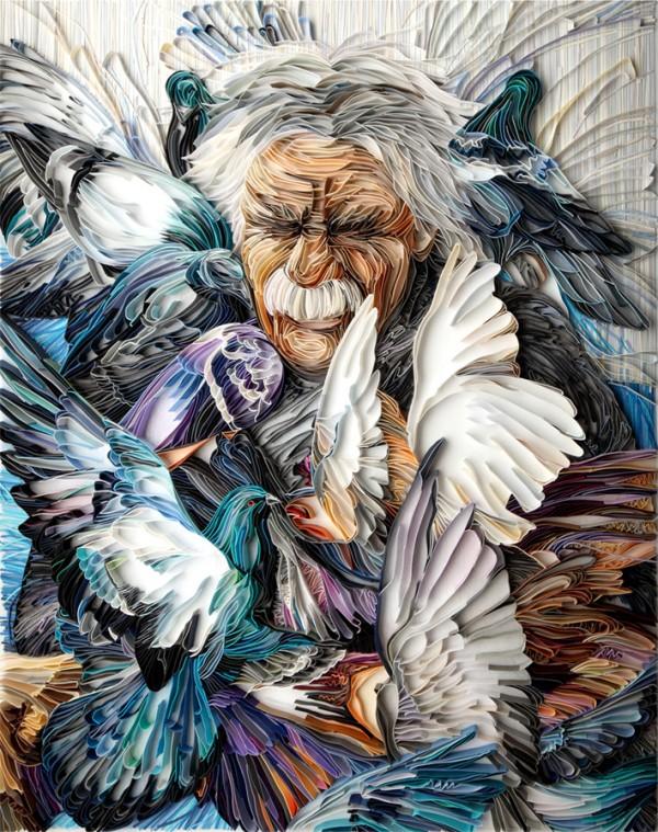 Papierkunst Yulia Brodskaya 1