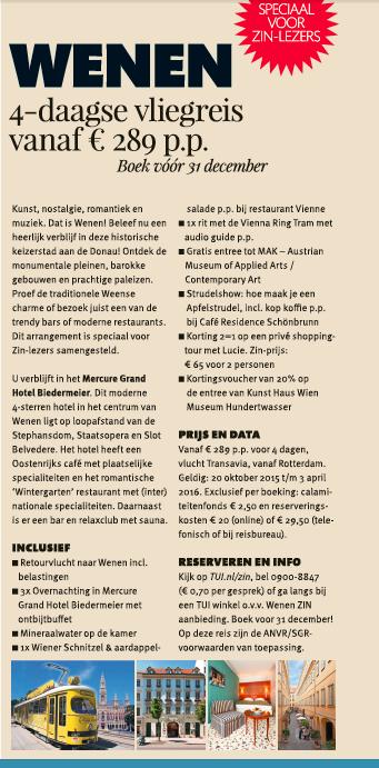 Zin12-arrangement Wenen