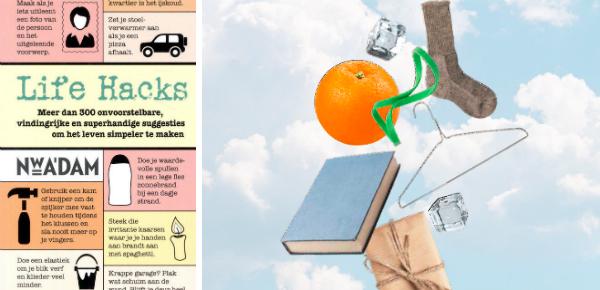 Life Hacks Machteld Smit winactie Zin magazine